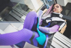 Sombra from Overwatch by KUMIcosplay