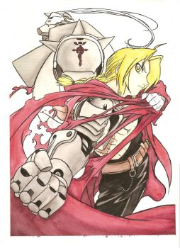 Edward an Alphonse by KrystalNexus
