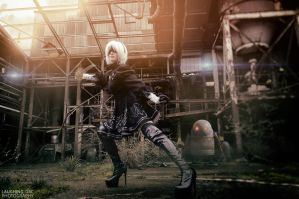 NieR: Automata YoRHa No.2 Type B Factory by Hollitaima