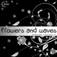 Flowers and waves by Coby17