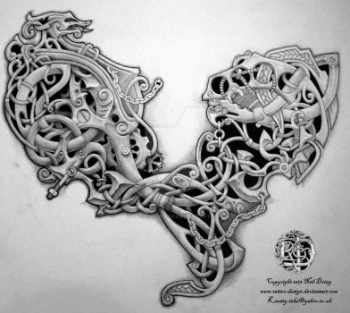 Celtic Steampunk? by Tattoo-Design