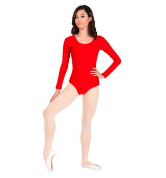 Theatricals+Long+Sleeve+Leotard by Dinsdale-Pirhana