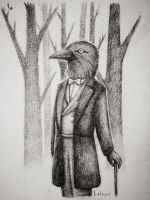Mr. Crow by Lalawu29