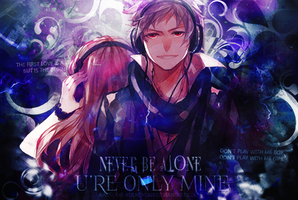 150417// Never be Alone(? [Signature] by Awesome-Yuuko-San