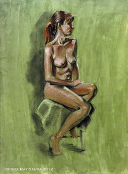 Life Drawing Series 5 by JophielS