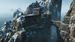 Skellige Castle - Witcher 3 by PlanK-69