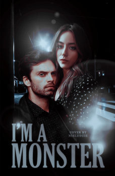 I'M A MONSTER + wattpad cover by saltyalec
