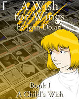 A Wish for Wings Book 1 Cover by Dolari