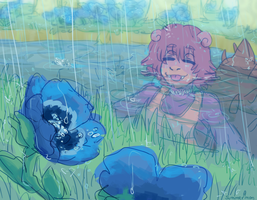 april showers bring cool flowers by summermon