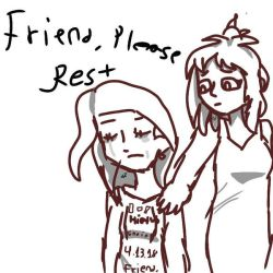 Friend, (Wip) by Smol-Ketchup-Packet