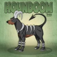 Houndoom by SuperEdco