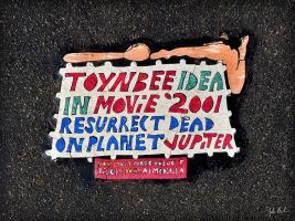 Toynbee Idea (36th and Chestnut) by barefootphotography