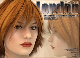 Earth Girls: London for V4 by kiera