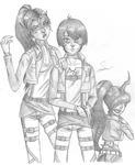 Attack on Mankind, Probably by SavannaEGoth