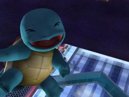 Squirtle XD- Brawl Snapshots by izziefairy