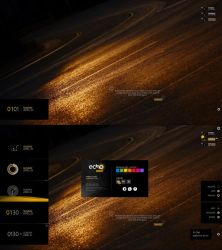 echo ONE 1.2.1A (Suite for Rainmeter) by FlorentePullon