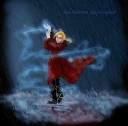 Ready to fight - Edward Elric by nothingandsth
