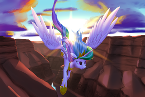 Canyon Dive by NadnerbD