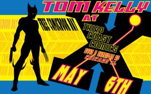 Tom Kelly Free Comic Book Day 2017 by TomKellyART