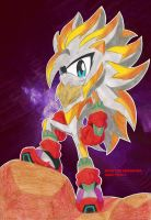 RUSH THE HEDGEHOG Super Form 4 by Chase-TH
