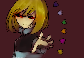 Epictale #2 (Frisk) by kiacii-official