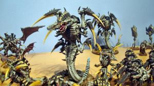 Hive Fleet Daedalus Trygon by Stefoserpent
