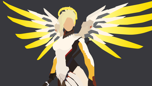Mercy vector art by WalidSodki