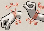 How to draw the wrist the good way =) by PitGraf