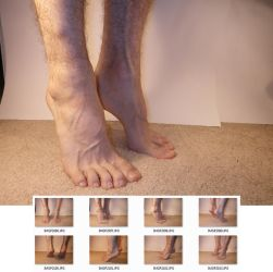 Feet 2 Stock by MostlyGuyStock