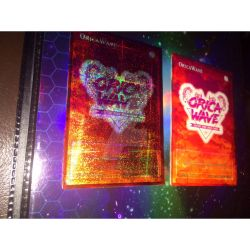 ORICAWAVE Yu-Gi-Oh! Orica card With Holo by BlackwaveButterfly