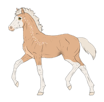 N3006 Padro Foal Design for DarkestNation by casinuba