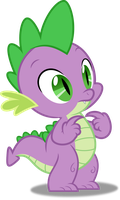 Vector #166 - Spike #6 by DashieSparkle