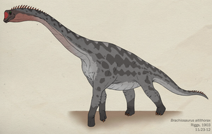 091--BRACHIOSAURUS ALTITHORAX by Green-Mamba