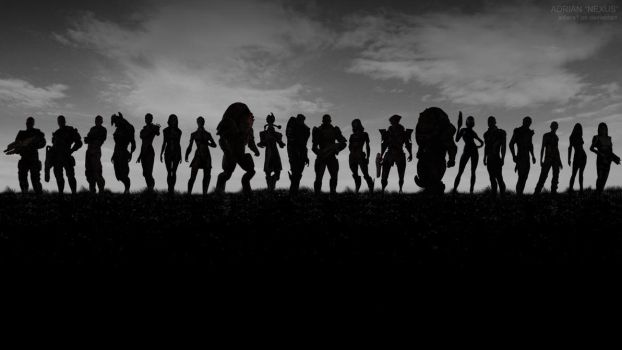 Mass Effect Army - Band of Brothers by adiera1