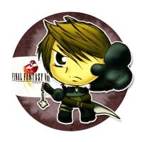 Little Squall Sticker by Thiefoworld