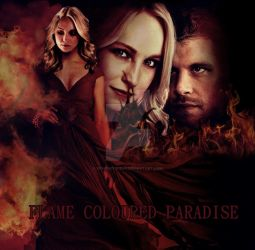 Flame Coloured Paradise (Fanfiction) by XxHoneyBeexX
