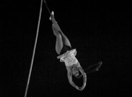 Ballet in rope by shantasphotos