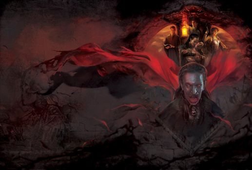 'DRACULA: Collection' MICROIDS (Complete Cover) by Chris-Darril
