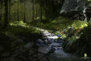 Forest Scene by psdeluxe