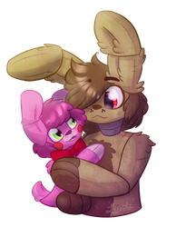Plush Love [Plushtrap x Bonnet] by MidnightHourSal