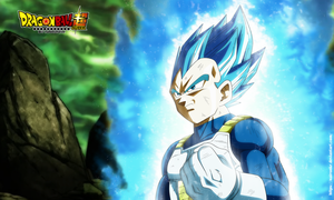 vegeta ssj blue full power POSTER by naironkr