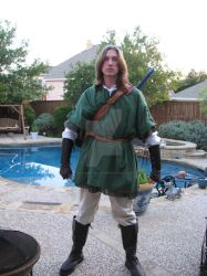 Link Costume Front by Fat-Ugly-Sloth