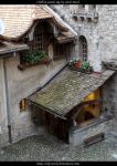 Chillon Castle - Inner Yard 02 by ALP-Stock