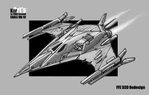 FFE D3D Redesign EAGLE Mk III by KaranaK