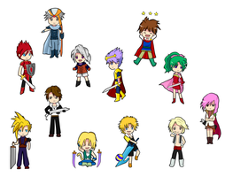Chibi Final Fantasy by con2020tran