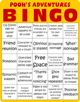 Pooh's Adventures Bingo by Maxtaro