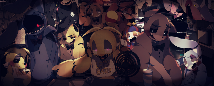 Golden Freddy (FNAF2) by Apricot4