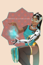 Overwatch - Symmetra by mio-mio