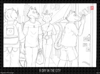 A Day in the City by HweiChow