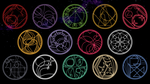 Wallpaper - Sigils by ErinPtah
